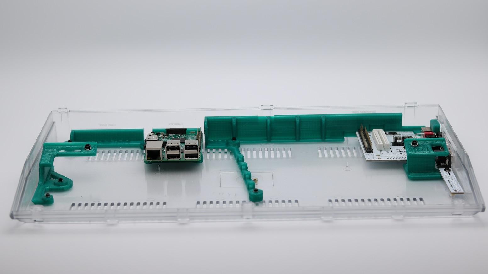 Non-Destructive Commodore 64c Raspberry Pi Conversion Frame by