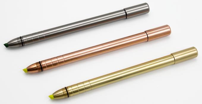 Titanium, Copper, or Brass
