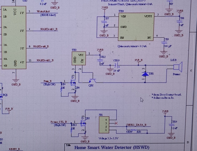 HSWD Schematic Development