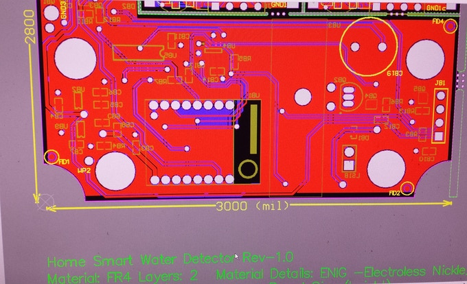 HSWD PCB board Development