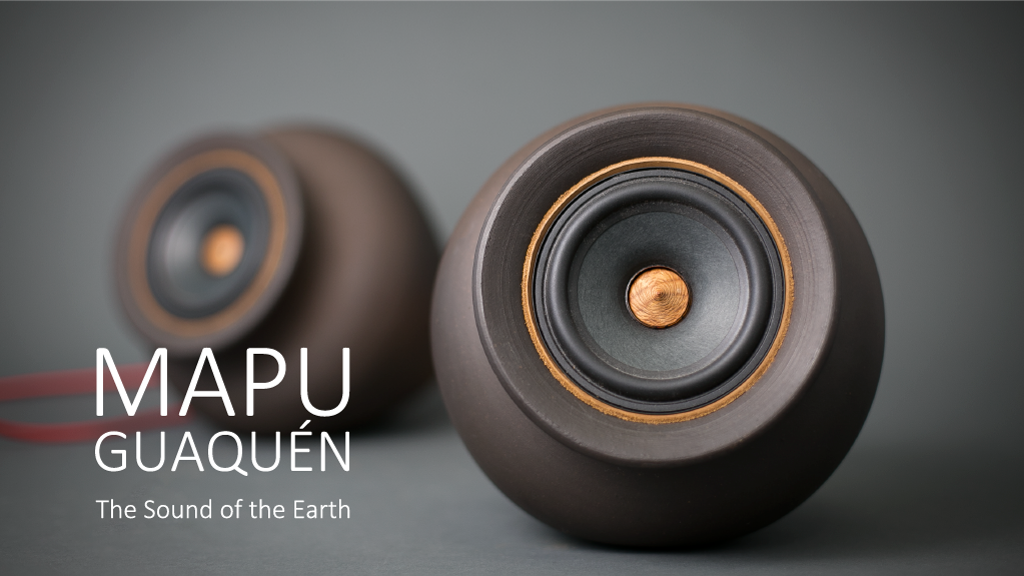 Mapuguaquén - unique, handmade clay speakers!