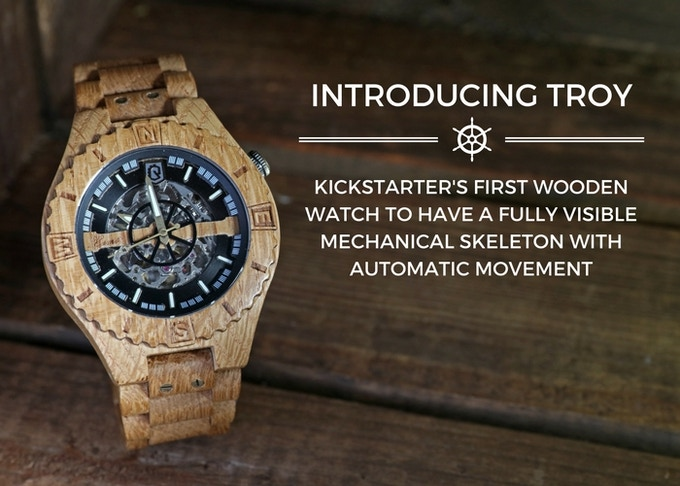 wooden leather luxury s bamboo genuine mens ezytoo image watches products product men band handmade