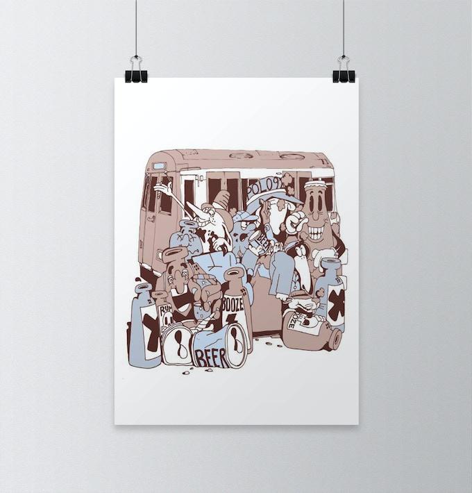 Ventza (Medium Print)