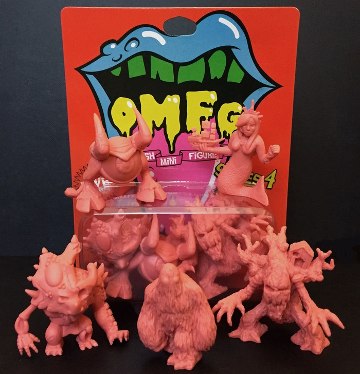 Help continue a community created toy line of mini figure characters like M.U.S.C.L.E. and Monster In My Pocket figures!