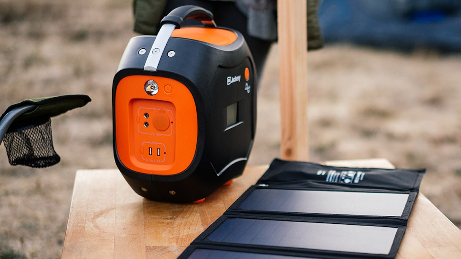 Jackery Power Pro Portable 578 Watt Hour Battery Generator By From The In Event Of A Short Circuit On Output Side Or Charge Anything With 110v Ac Dc Cigarette Lighter Two 6mm 12v 5v Usb Outputs Thats Rechargeable W Solar Panel