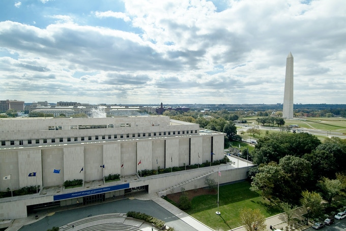 The National Museum of American History in Washington, DC