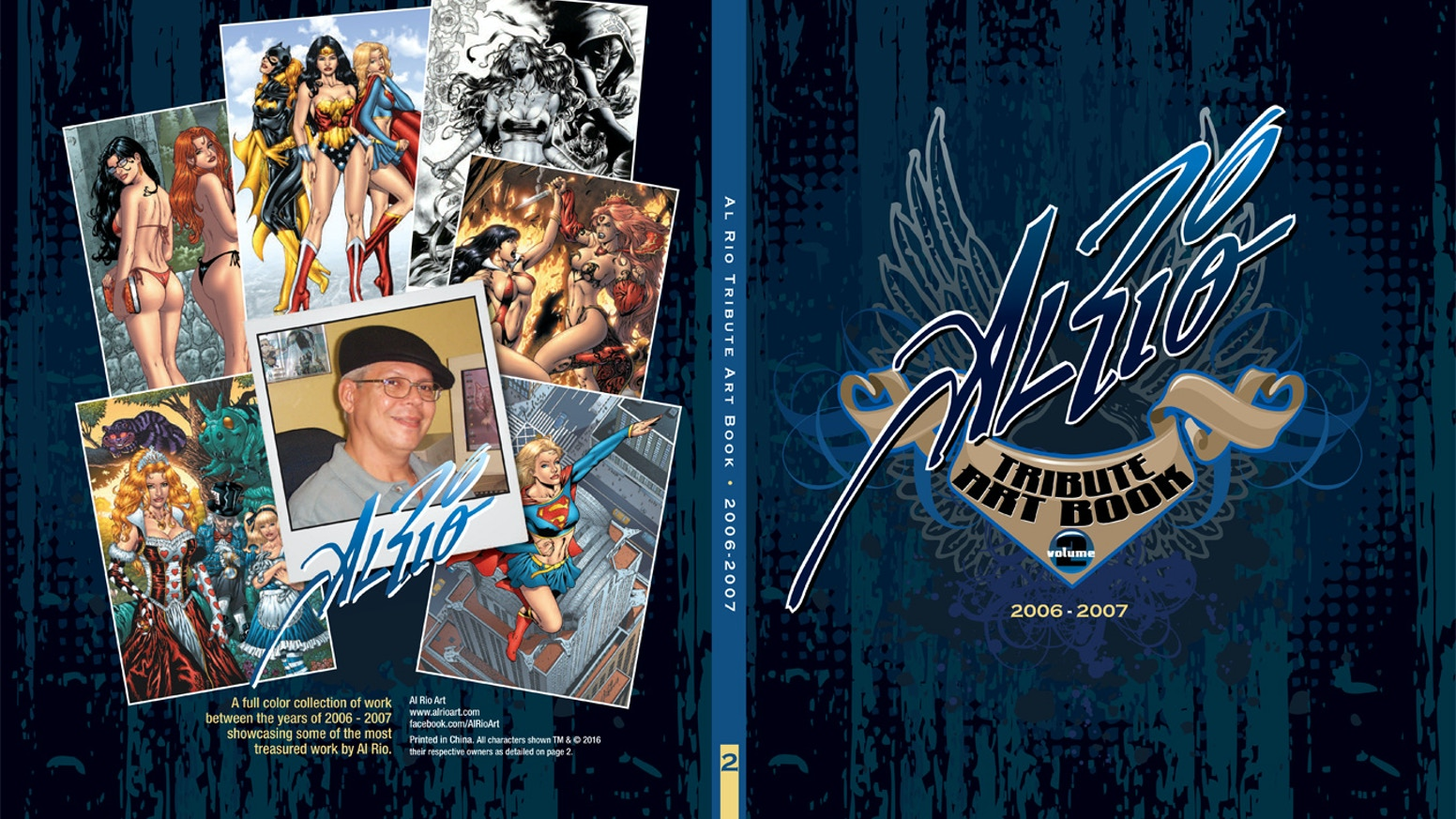 Al Rio Tribute Art Book Volume Two By Terry Maltos A Look