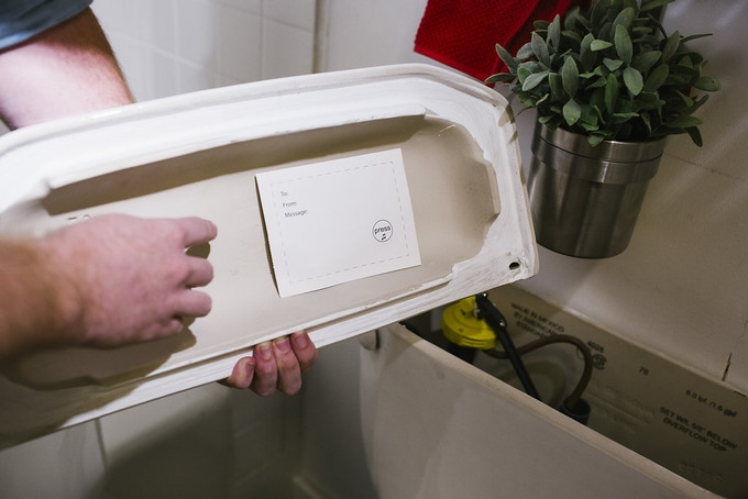 Yes! The Joker Cricket Will Work Hidden inside the Toilet!