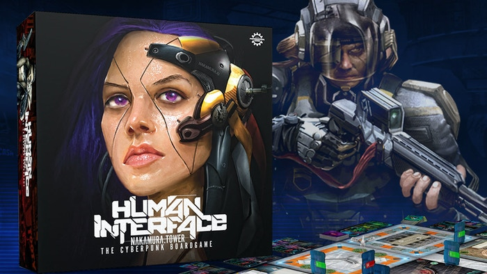 Human Interface is first on the market truly cyberpunk board game. New game below!