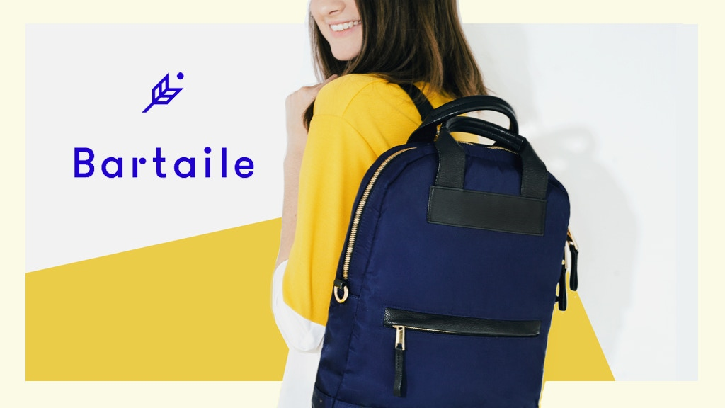 The C12 by Bartaile - a convertible laptop bag project video thumbnail