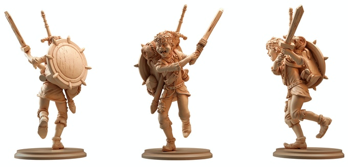 Eric The Squire sculpted by Raul Tavares