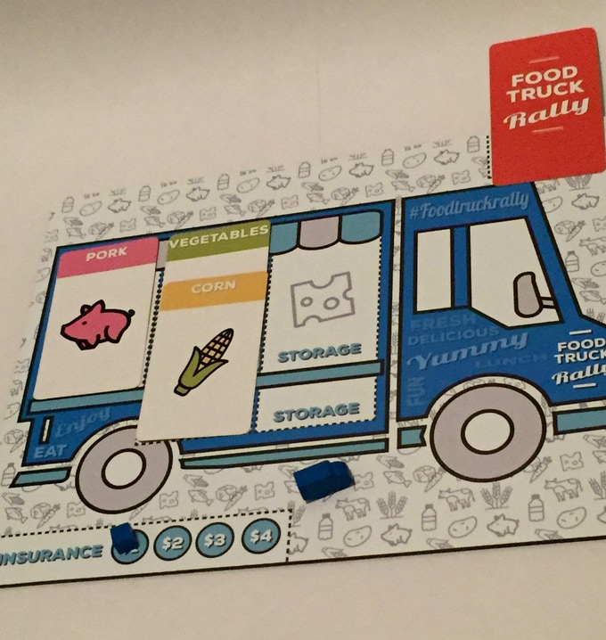Shared Board Cause To Pause: Food Truck Rally By Jeranimo Games —Kickstarter
