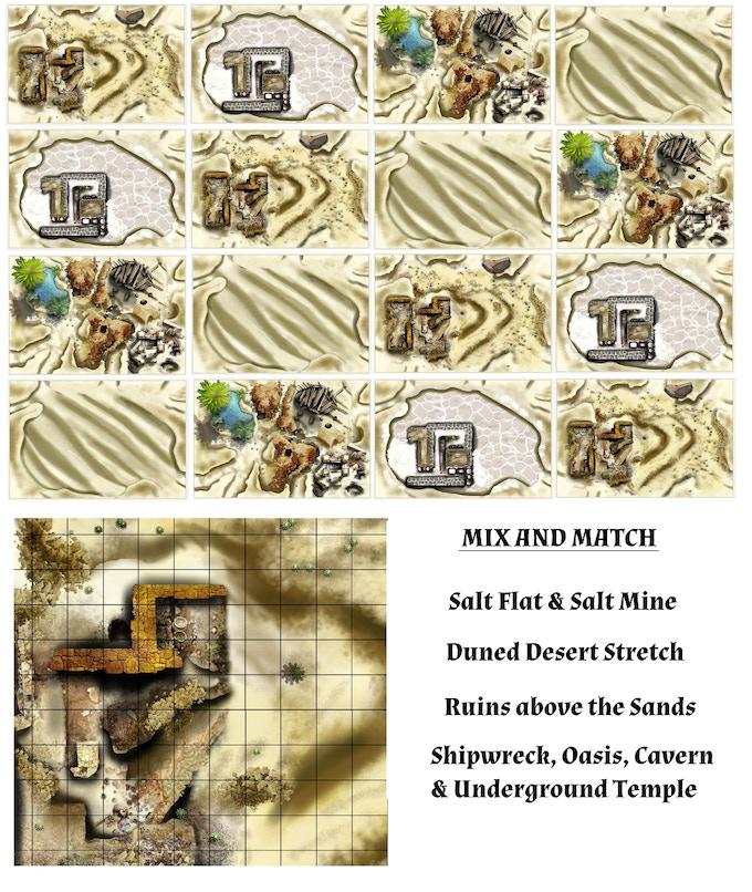 Desert Themed Meanders