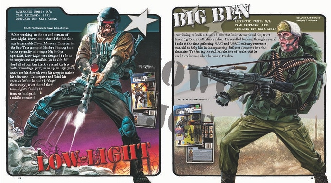 Low-Light & Big Ben 2 page spread