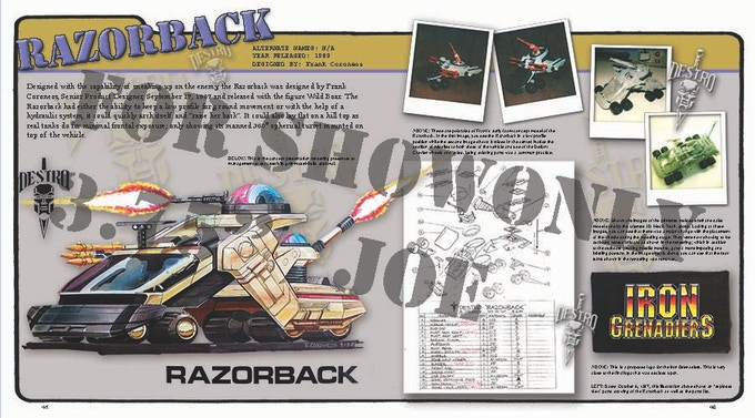 Razorback 2 page spread
