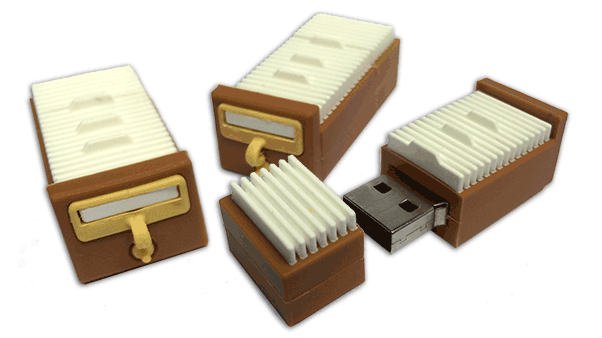 Our bestselling 8GB USB Drive, containing every Unshelved strip ever!