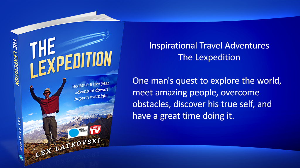 Inspirational Travel Adventures - The Lexpedition (Book) project video thumbnail