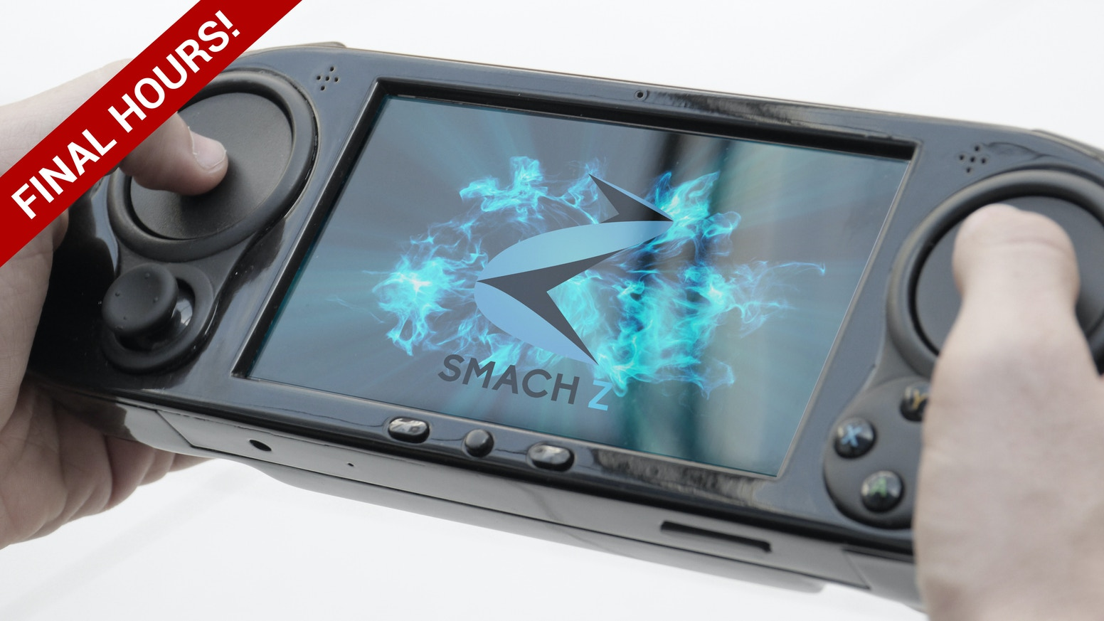 Smach Z The Handheld Gaming Pc By Team Kickstarter Electric Circuit Board Processor Tshirt Spreadshirt Is A With Haptic Touchpad Controls Thats Powerful Enough To Play Any