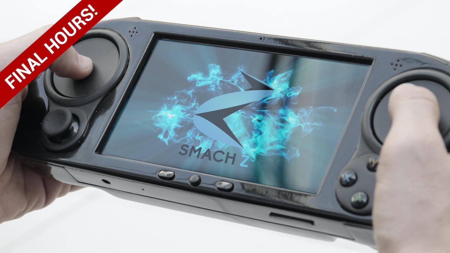 SMACH Z The Handheld Gaming PC By SMACH Team Kickstarter - Minecraft spiele ps vita