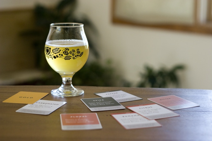 Using the Palate Deck to evaluate a saison