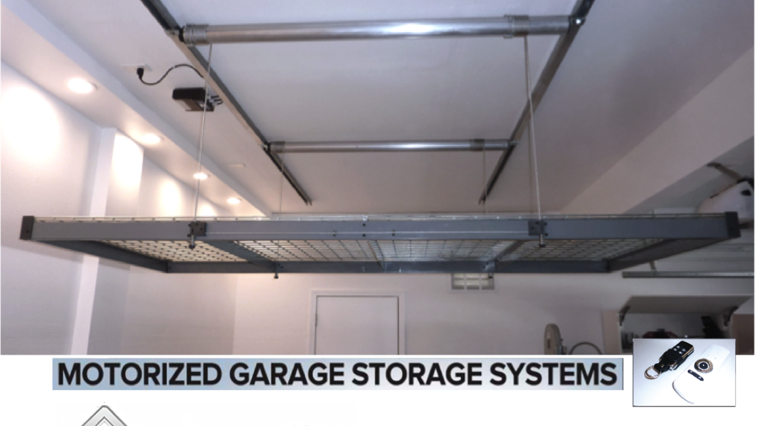 A Motorized Storage System For Easy Storing No More Ladders Useful That
