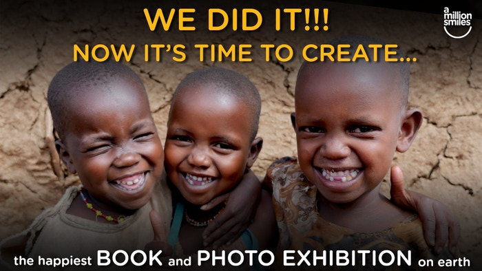 We're creating a book and photo exhibition to inspire a world free from suicide, poverty and war; where adults smile as often as kids.