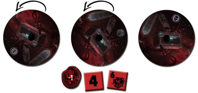 Rolling dice according to the drowning dial, and take wound for each non-success result. Investigator dies instantly when the dial reaches the last degree.