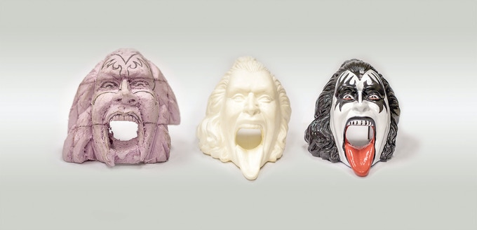 KISS head from prototype to final