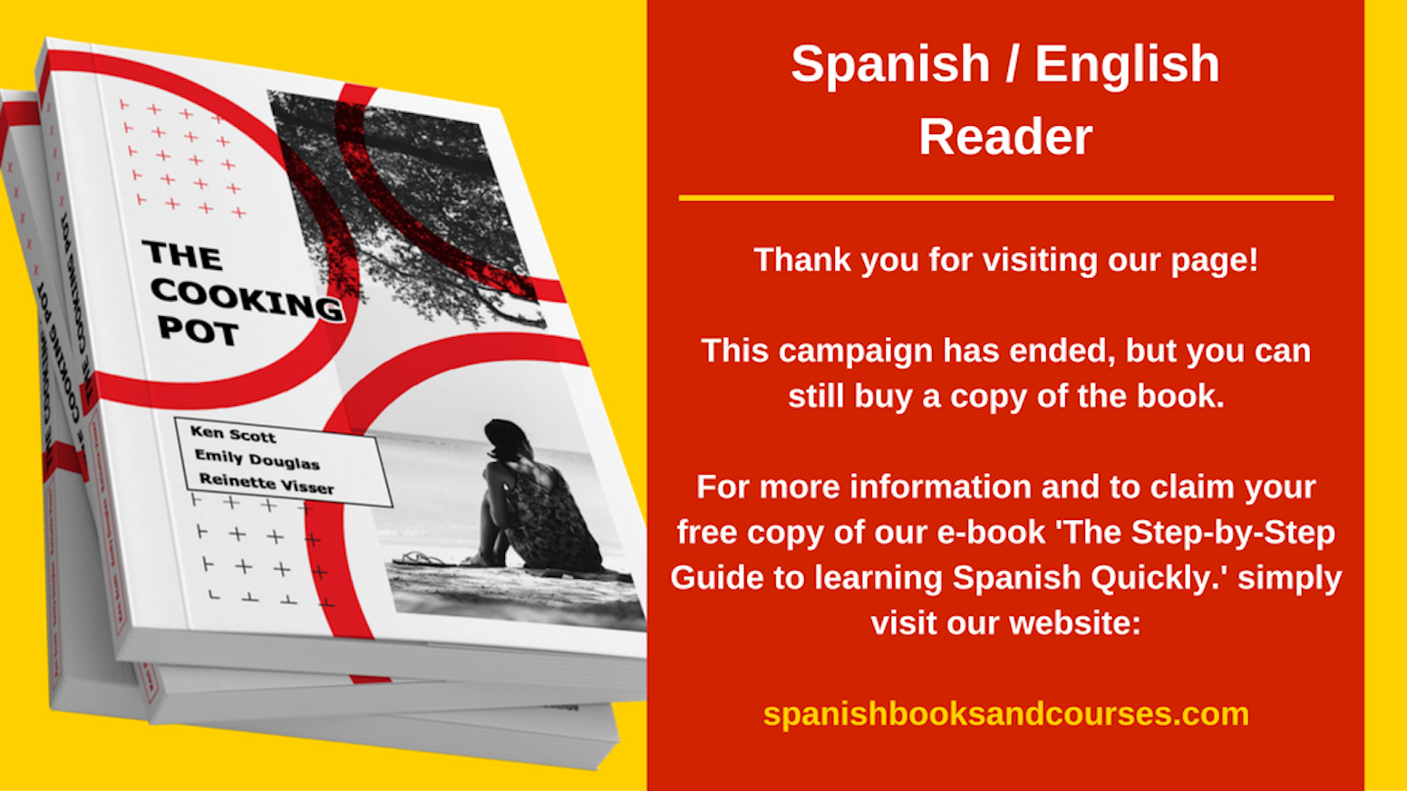The Cooking Pot Spanish English Reader For Adults By Reinette