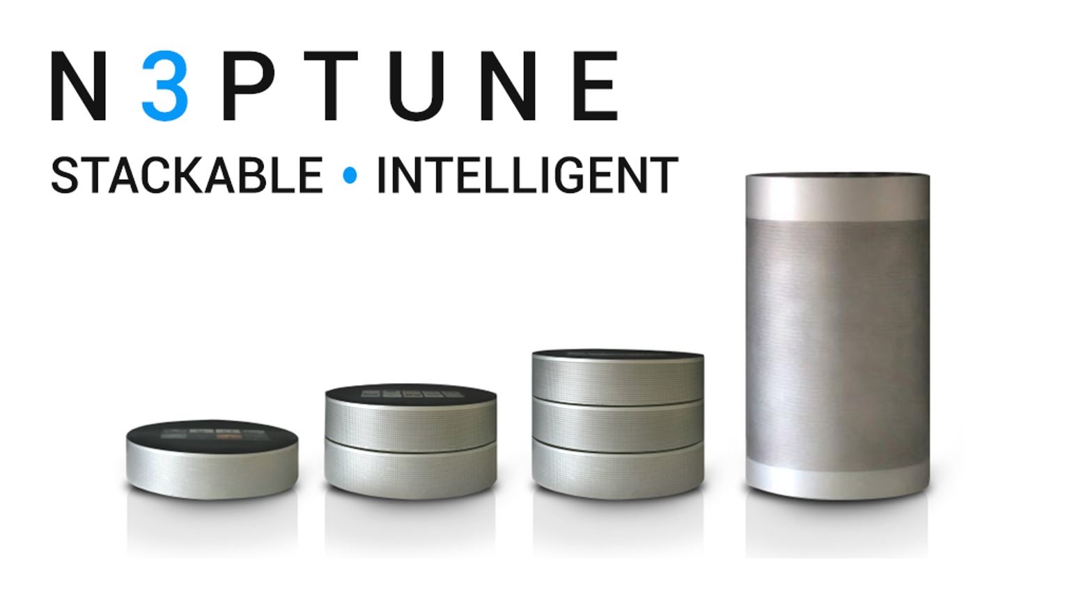 n3ptune intelligent stackable wireless speaker by n3ptune audio