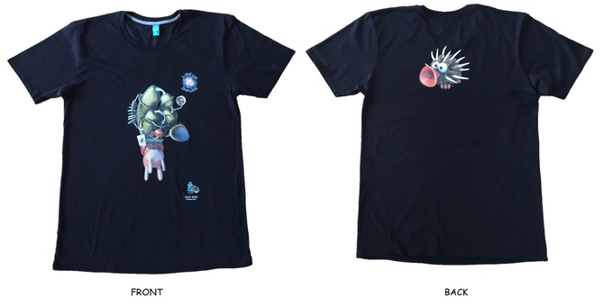 Everybody has loads of cool T-shirts. Enough! Get our extra repulsive official team T-shirt from high quality cotton!