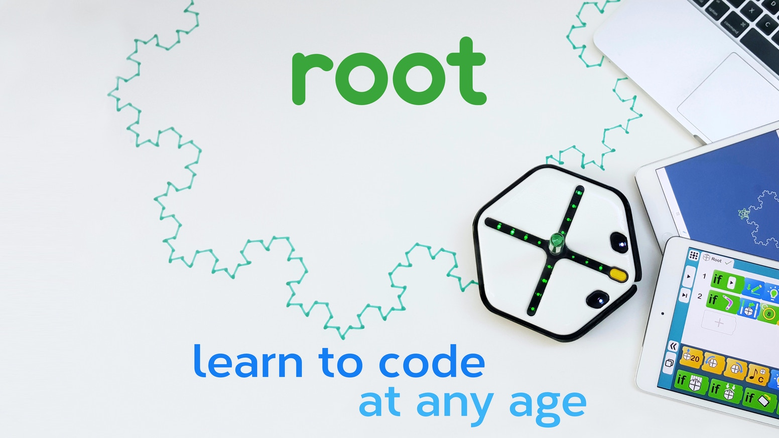 Root A Robot To Teach Coding By Robotics Kickstarter Line Follower Scanner Schematic Let Your Kids Fall In Love With The That Turns Any