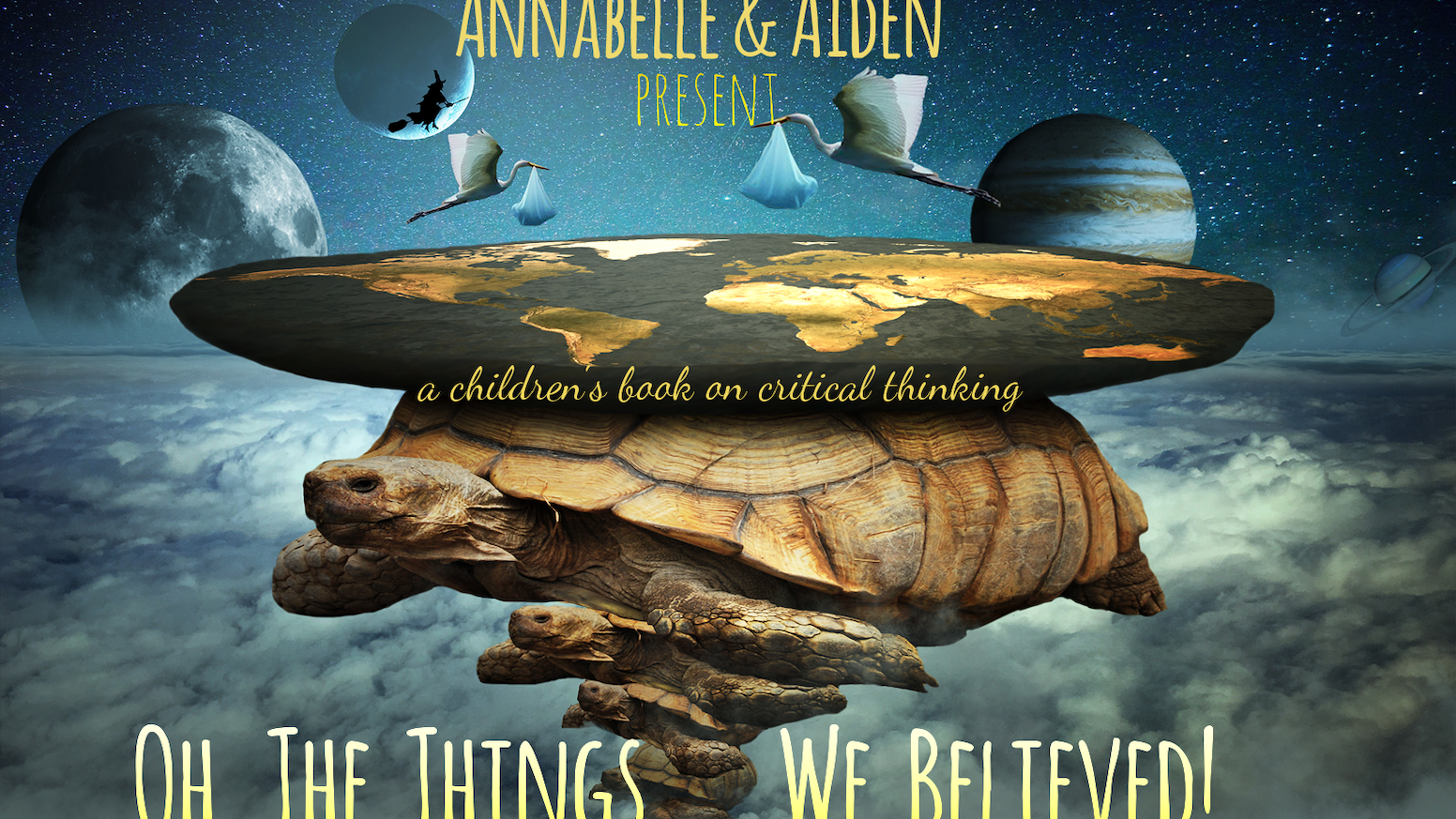 This children's book will foster critical thinking skills through an amazing journey of myths and discoveries, and fiction and fact.