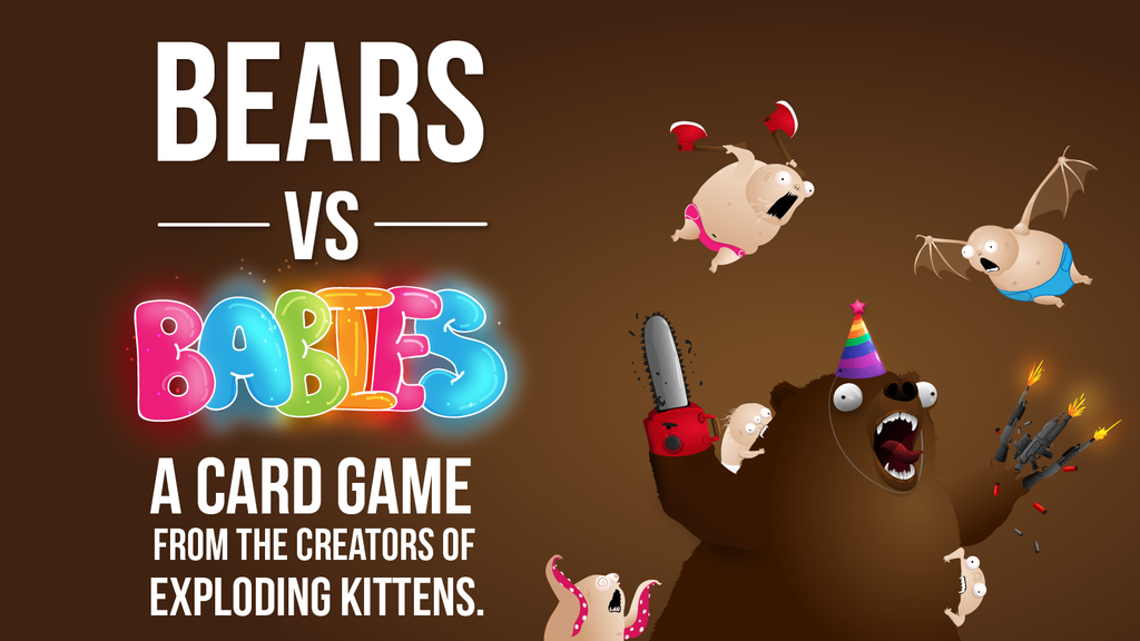 Bears vs Babies - A Card Game miniatura de video del proyecto