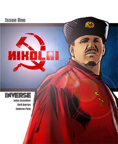The Standard Edition Cover for NIKOLAI 1! A VERY Limited Number of SIGNED Copies are Available!