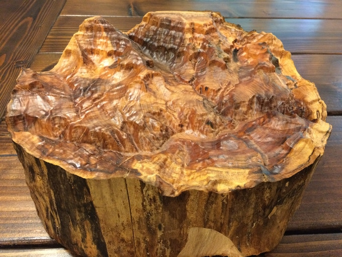 Wooden landscapes ultra accurate topographic carvings by