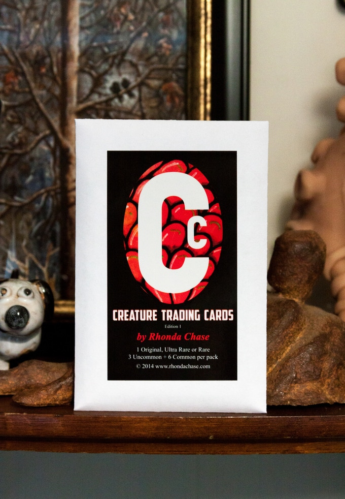 Creature Trading Card Packs. Click to learn more and see examples of the cards.