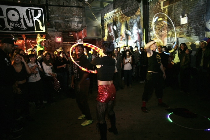 Party Time at The Wick at our Brass-Tastic Blowout, 2015