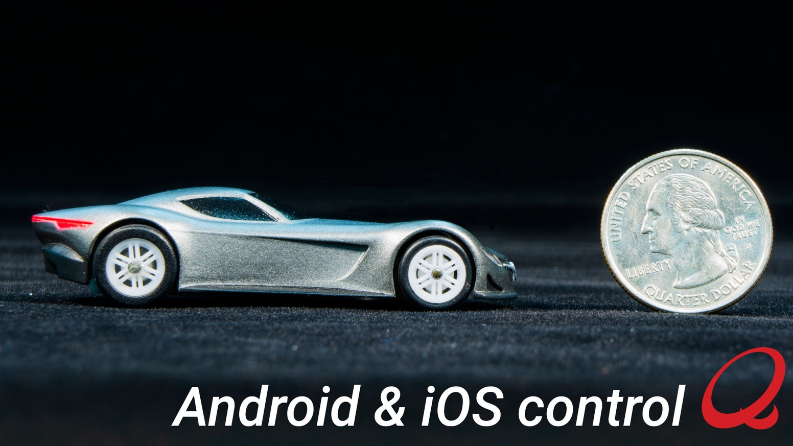 World S Smallest Smartphone Controlled Car By Quantow Kickstarter
