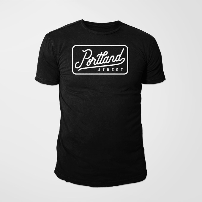 Limited Edition Portland Street T-Shirt (designed by Eric Miller, Dartmouth Clothing Co.)