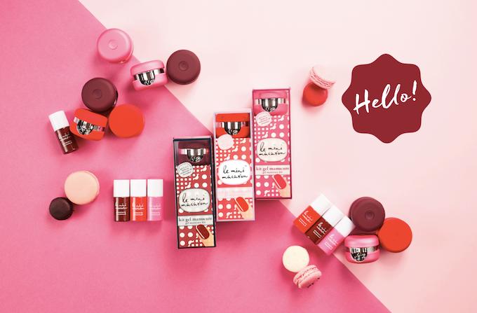 Le Mini Macaron Best 15min Gel Nail Kit The Perfect Gift By Christina Kao Kickstarter