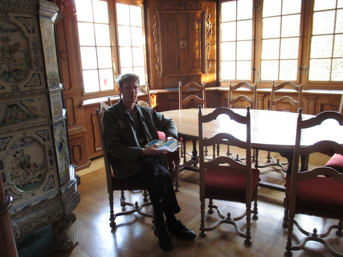 Justin Duerr in Carl Jung's study