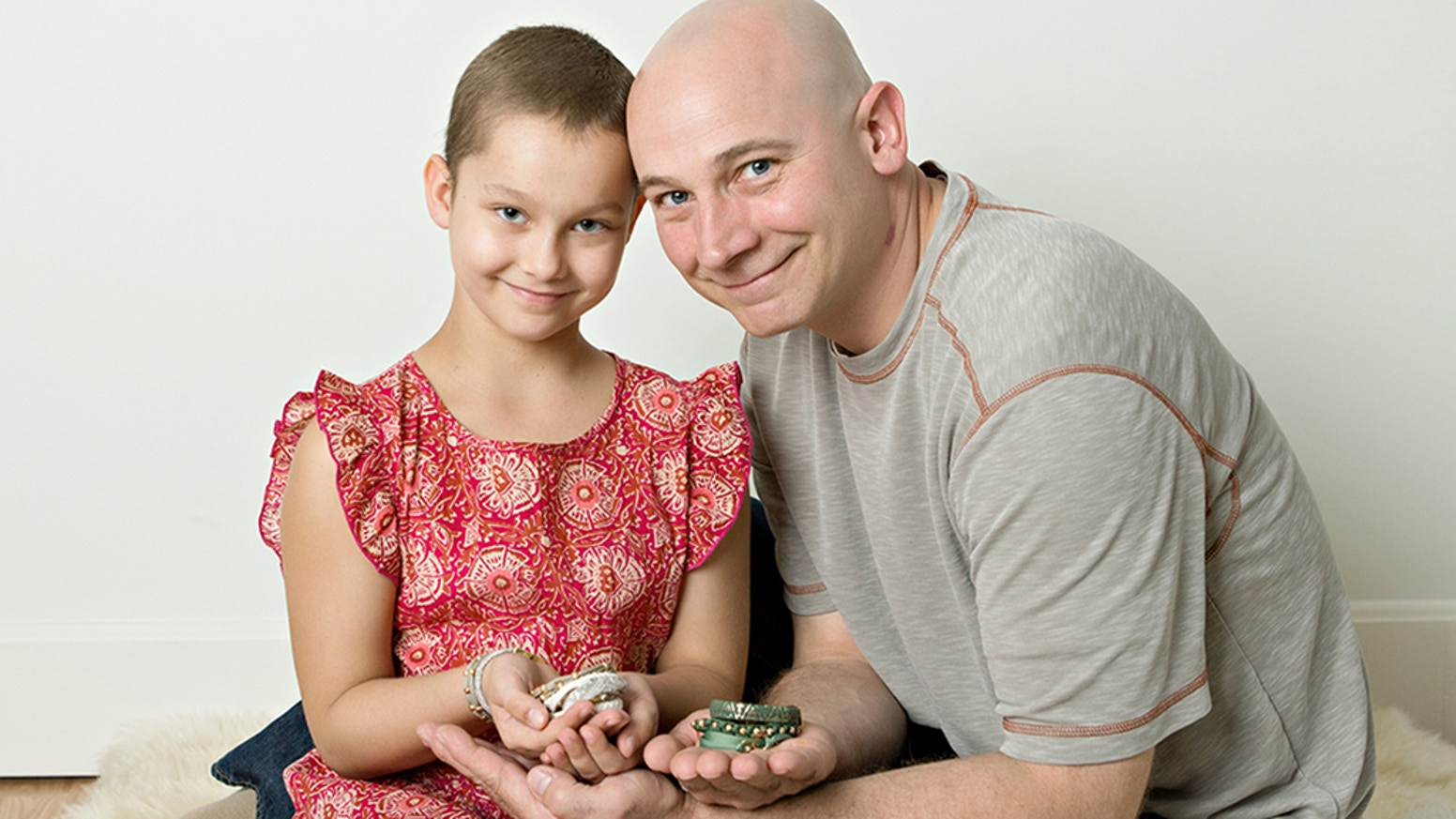 Father and daughter cancer survivors unite to create a line of unique bracelets to help put an end to Childhood Cancer.