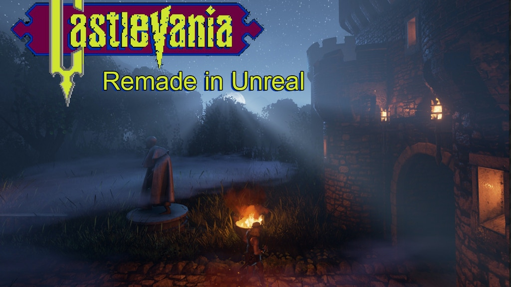 Project image for Castlevania 1 remake