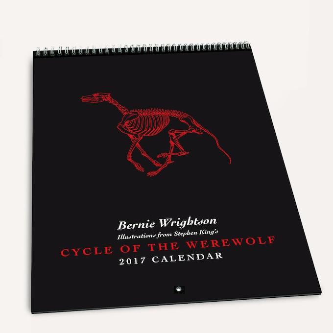 2017 Cycle of the Werewolf Calendar!