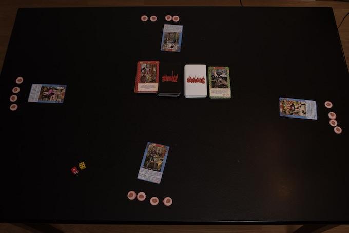 4 player set up