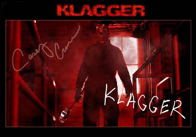 KLAGGER 8X10 Signed by Director Casey Crow and KLAGGER