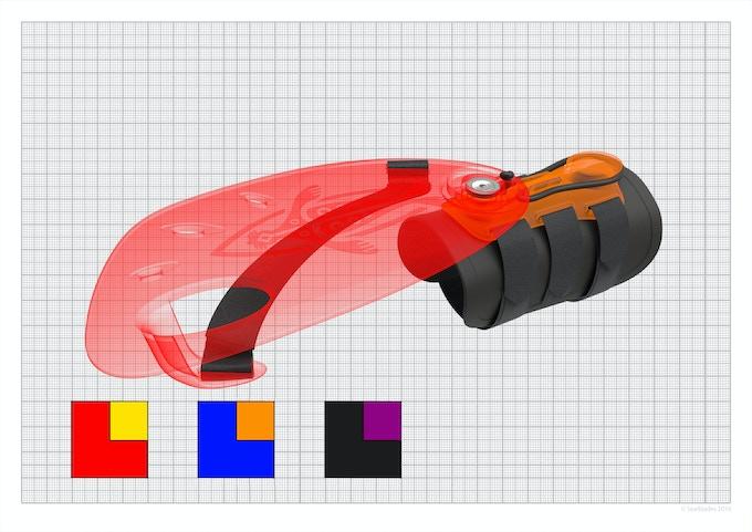 Colour options for Sealblades Zero Rush