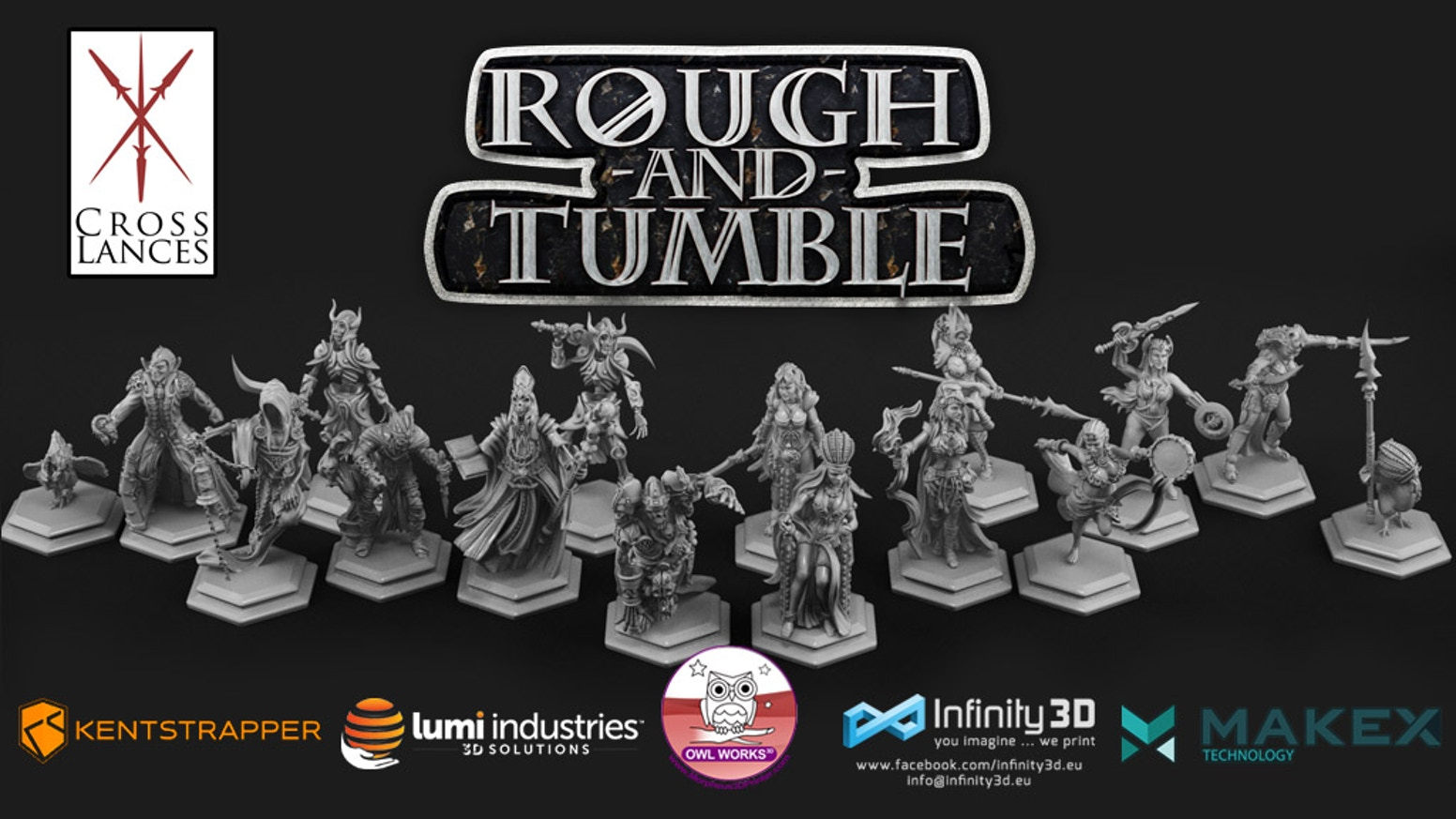 Rough-and-Tumble it's a board game for your 3d printer.