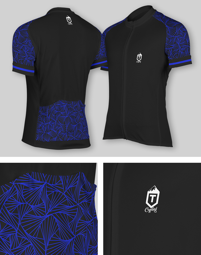 Black and Blue Professional Jersey